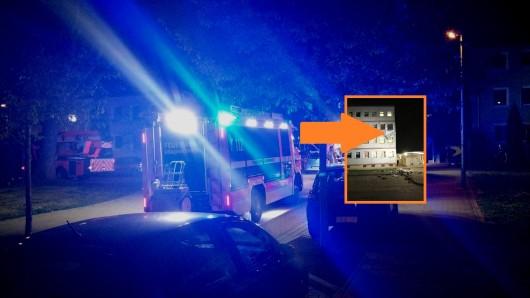 Die Feuerwehr war am Abend in der Reuterstraße im Einsatz.