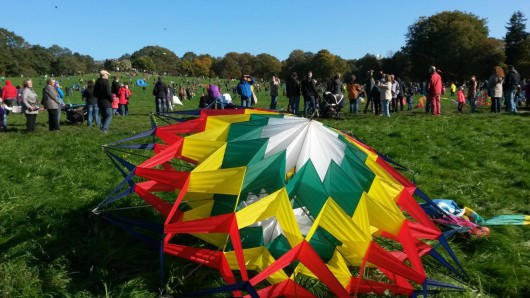Am 14. Oktober gehen wieder zahlreiche Drachen im Prinzenpark in die Luft.