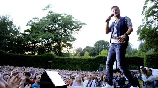 Pur-Sänger Hartmut Engler in seinem Element.