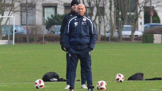 Eintracht Braunschweig testet gegen Germania Halberstadt.