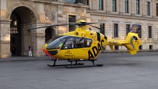 Christoph 30 hat am Mittwochmorgen einen Notarzt in die Innenstadt gebracht.