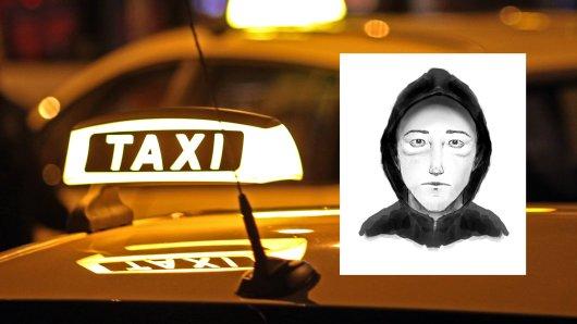 Die Polizei Braunschweig sucht mit einem Phantombild nach einem Taxiräuber.