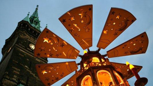 Weihnachten in Braunschweig: Für die Braunschweiger gibt es extra leckere Naschereien.