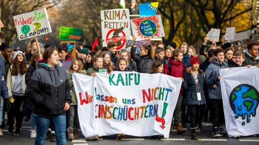 Fridays For Future will auch in unserer Region auf die Straße gehen, unter anderem in Braunschweig. (Archivbild).