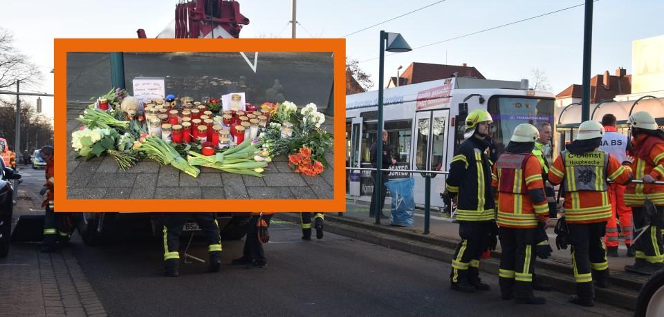 In Braunschweig hat es einen schrecklichen Straßenbahn-Unfall gegeben. Ein Kind ist ums Leben gekommen.
