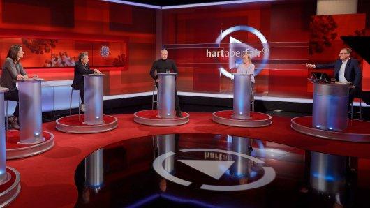 """Bei """"Hart aber fair"""" (ARD) am Montagabend ging es um den bundesweiten Lockdown – und dem damit verbundenen """"Lagerkoller""""."""