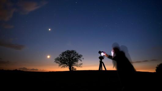Einem Fotografen aus Braunschweig ist eine sensationelle Aufnahme gelungen. (Symbolbild)