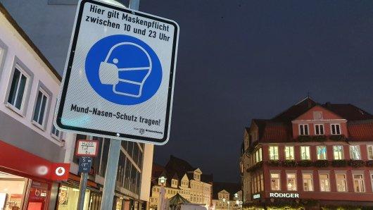 So richtig voll ist die Innenstadt von Braunschweig nicht wirklich...