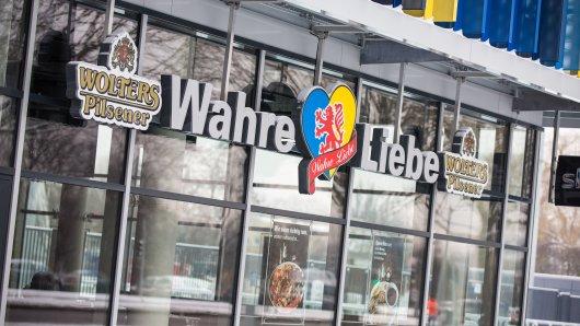 """Eintracht Braunschweig: Dem blau-gelben Fan-Restaurant """"Wahre Liebe"""" geht es in der Corona-Krise schlecht. Damit ist es nicht allein... (Archivbild)"""