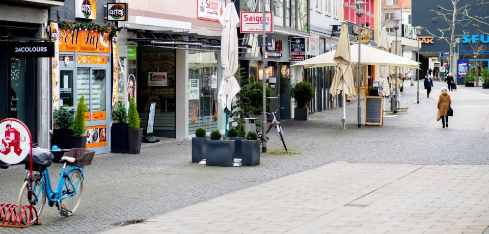 Die Innenstadt von Braunschweig ist wie leer gefegt, viele Händler kämpfen während des Corona-Lockdowns um ihr Überleben. (Symbolfoto)