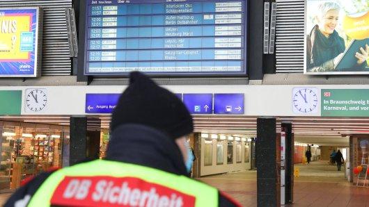 Erschreckende Szenen am Hauptbahnhof in Braunschweig! (Symbolbild)