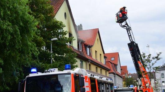 Wohnungsbrand in Braunschweig!