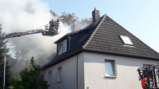 Einsatz für die Feuerwehr im Siegfriedviertel in Braunschweig!