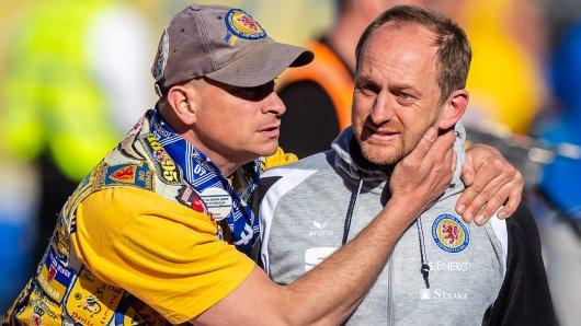Torsten Lieberknecht war fast zehn Jahre lang Trainer von Eintracht Braunschweig. Er erlebte alle Höhen und Tiefen.