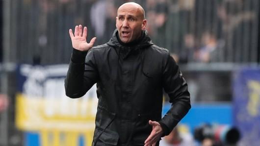 Eintracht Braunschweig-Trainer André Schubert.