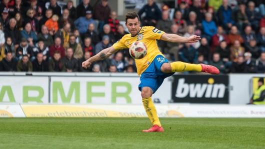 Niko Kijewski ist in dieser Saison ein Dauerbrenner. Als einziger Löwe stand er bisher in jeden Spiel in der Startelf von Eintracht Braunschweig.