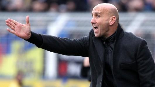Keine leichte Aufgabe für Eintracht Braunschweig-Coach André Schubert: Einerseits schlägt die Becker-Sperre hohe Wellen, andererseits haben die Löwen Preußen Münster vor der Brust.