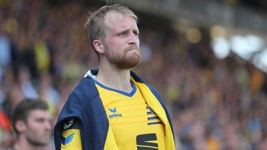 Eintracht Brauschweig muss Philipp Hofmann aller Voraussicht nach ablössefrei ziehen lassen.