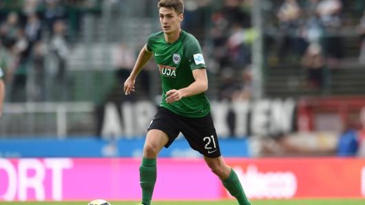 Danilo Wiebe kickte zuletzt in Münster - jetzt bei Eintracht Braunschweig.