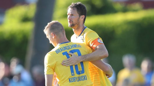 Eintracht Braunschweig testete gegen die TSG Hoffenheim.