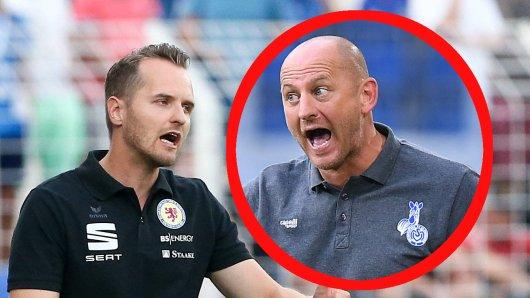 Christian Flüthmann und Eintracht Braunschweig treffen am Sonntag auf Torsten Lieberknecht und den MSV Duisburg.