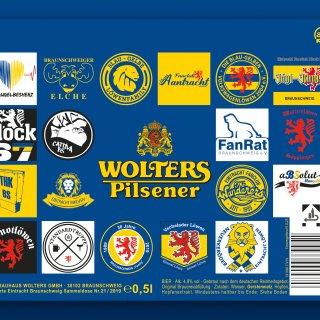 100 Eintracht Braunschweig-Fanclubs haben mitgemacht, 19 haben es auf die Dose von Wolters geschafft.
