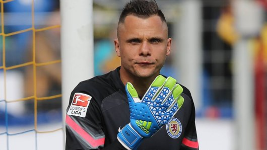 Rafal Gikiewicz spuckte zwei Jahre lang für Eintracht Braunschweig in die Handschuhe.