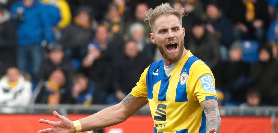 Hinter Felix Burmeister von Eintracht Braunschweig liegt eine ereignisreiche Woche.