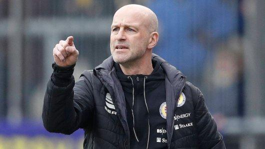 Marco Antwerpen bei Eintracht Braunschweig mit ehrlichen Worten.