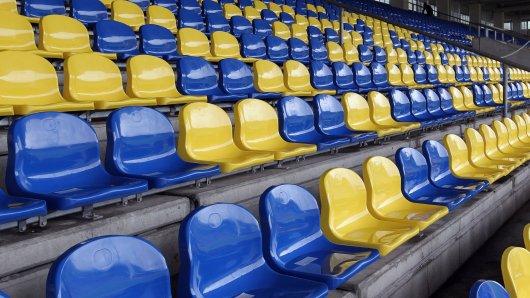 Bleiben die Sitzschalen im Eintracht-Stadion in Braunschweig gegen Viktoria Köln am Sonntag leer? (Archivbild)