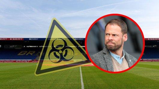 Eintracht Braunschweig-Geschäftsführer Wolfram Benz macht sich derzeit viele Gedanken...