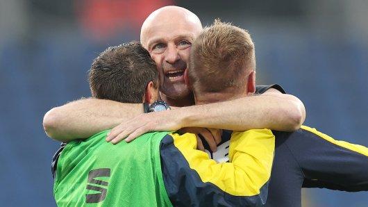 Die Zukunft von Marco Antwerpen bei Eintracht Braunschweig ist noch ungewiss.