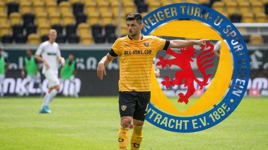 Jannis Nikolaou wchselt von Dynamo Dresden zu Eintracht Braunschweig.