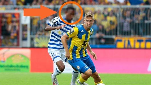 Ab sofort Teamkollegen bei Eintracht Braunschweig: Yassin Ben Balla (hier noch MSV Duisburg) und Martin Kobylanski.
