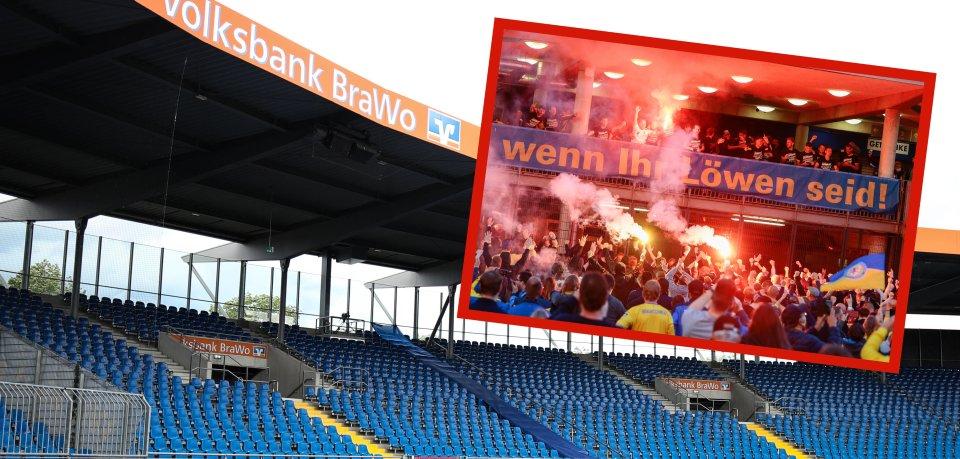 Eintracht Braunschweig und leere Stadien – das passt einfach nicht.