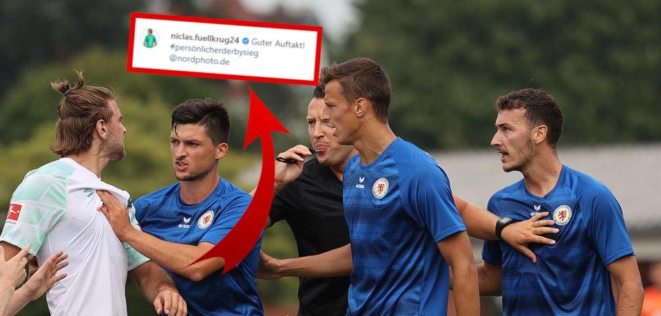 Ein Instagram-Post sorgt für Ärger bei den Fans von Eintracht Braunschweig.