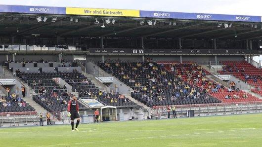 Eintracht Braunschweig hat bereits vor wenig hundert Zuschauern gespielt. Doch jetzt folgt eine faustdicke Überraschung.