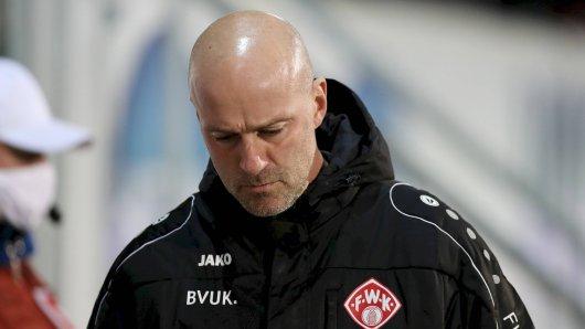 Eintracht Braunschweig: Ex-Coach Antwerpen steht bei Würzburg vor dem Aus.