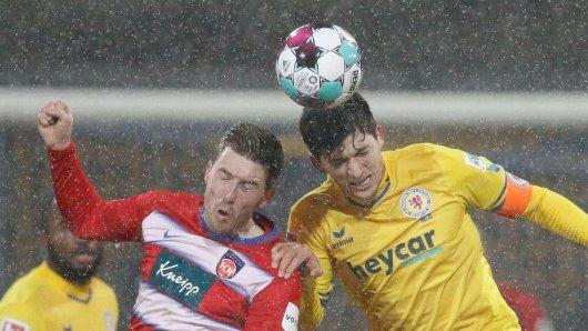 Die Eintracht empfängt den 1. FC Heidenheim.
