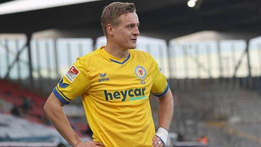Felix Kroos von Eintracht Braunschweig macht zusammen mit seinem Bruder Toni einen Podcast. In der letzten Folge ging's um derzeit vieldiskutierte Frisurfrage... (Archivbild)