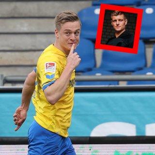 Eintracht Braunschweig: Felix Kroos verteidigt seinen Bruder auf Twitter.