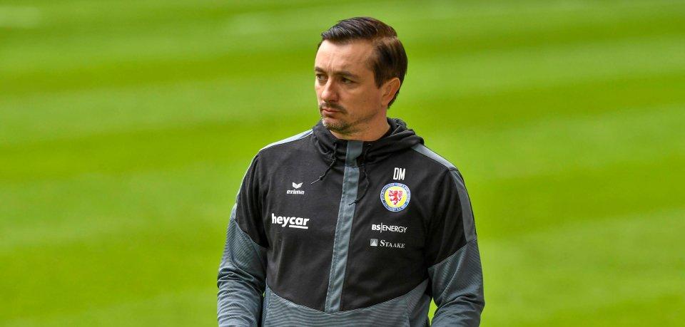 Eintracht Braunschweig: Coach Daniel Meyer ist zuversichtlich was den Klassenerhalt angeht.