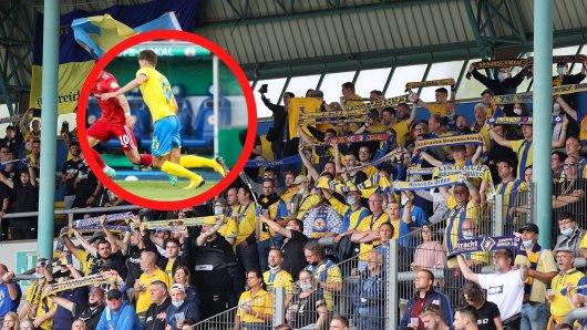 Ein Fan von Eintracht Braunschweig hat sich eine ganz besondere Aktion ausgedacht, bei der die Löwen ihn unterstützen.