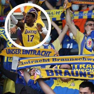Eintracht Braunschweig: Fans feiern NBA-Star Dennis Schröder nach Seitenhieb gegen Rivalen.