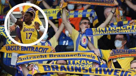 Die Fans von Eintracht Braunschweig sind froh. Denn NBA-Star Dennis Schröder muss nicht mit einer unliebsamen Nummer auflaufen.