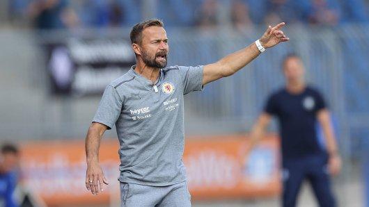 Eintracht Braunschweig-Trainer Michael Schiele hofft auf drei Punkte gegen Saarbrücken.