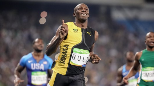 Usain Bolt bleibt der schnellste Mensch der Welt.