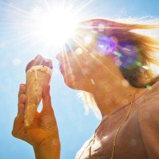 Heute wird es heiß (Symbolbild).