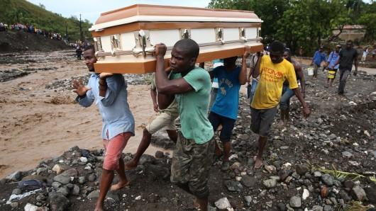Haiti hat durch den Hurrikan viele Todesopfer zu beklagen.