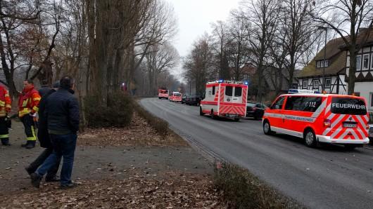 Die Feuerwehr ist in Riddagshausen im EInsatz (Archivbild).